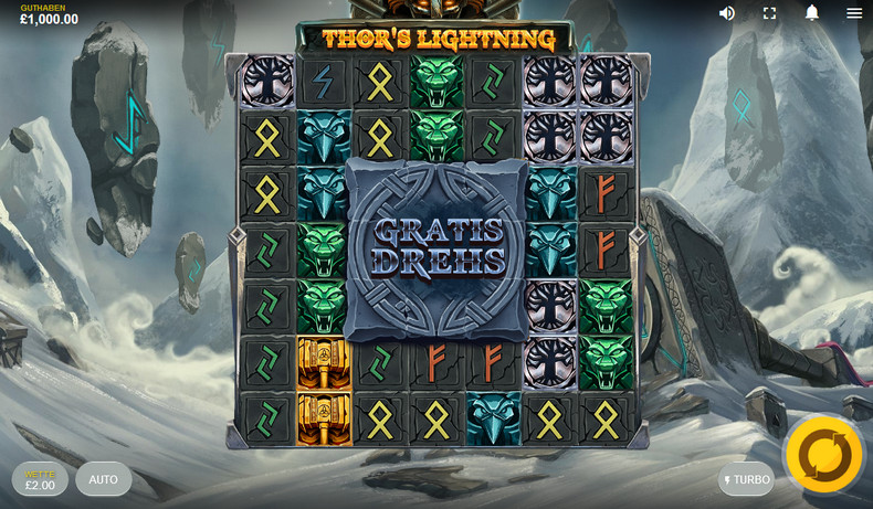 Thors Lightning Slot DE