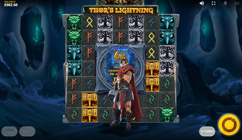 Thors Lightning Slot EN